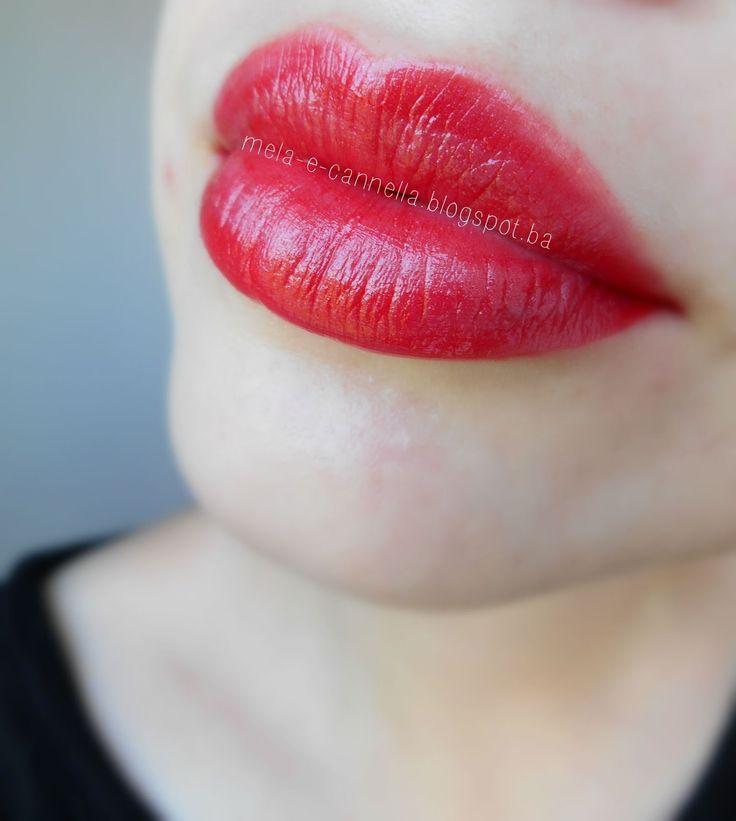 mela-e-cannella: FARMASI Lipstick - Glamoure Shine 1
