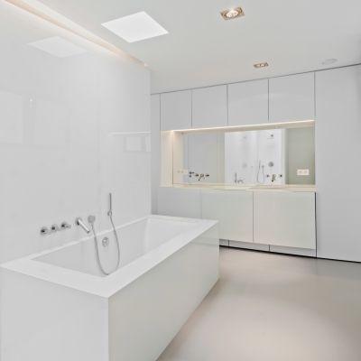 gmf architecten woning h te antwerpen 2010 design bathroombeach housemaster bedroomsinkmodern - Modern Design Bathrooms 2010