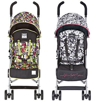 Lulu Guiness for Maclaren  #Design #Pushchair #Stroller #Baby