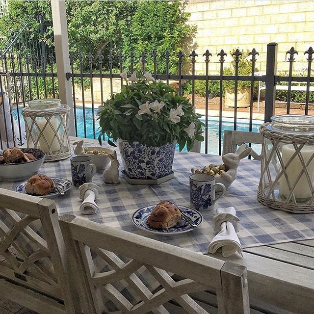 Judy @hamptons_loves has created a relaxed Easter setting with the help of our Adelong white willow jars used as hurricanes. Enjoy your Easter weekend Judy
