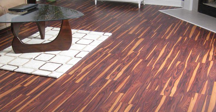 African Wood Dark With Easy Gripstrip Installation Vinyl