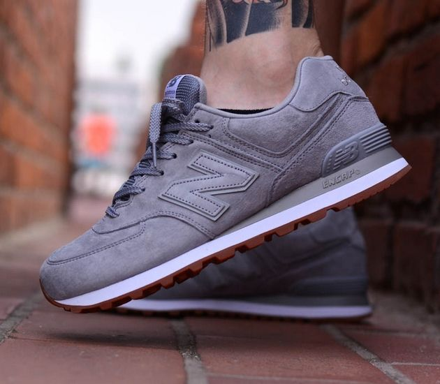 mens new balance 574 trainers on biggest