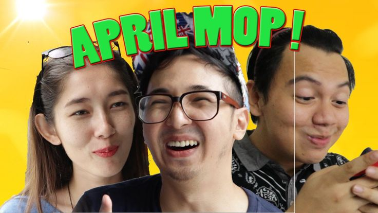 TIPE TIPE ORANG saat APRIL MOP / FOOLS with Chandra liow