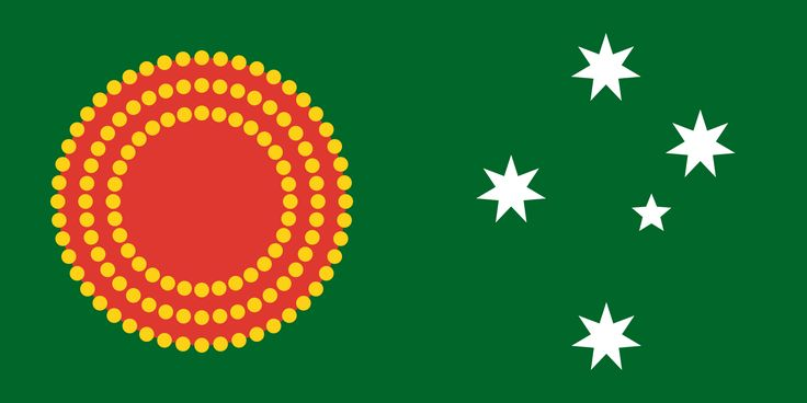 Proposal for a new Australian flag, designer unknown (2015)