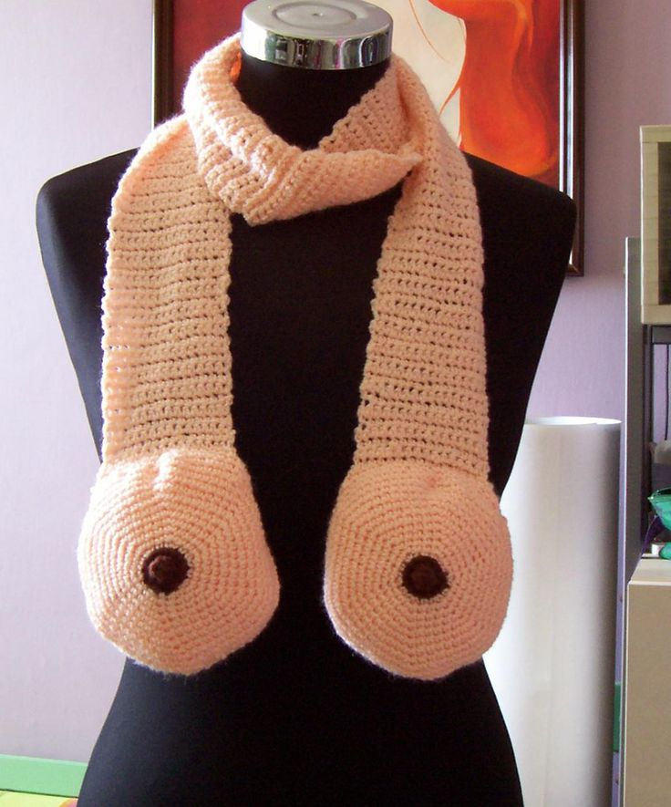 Boob scarf. Need.: Boobs Scarfs, Crochet Scarves