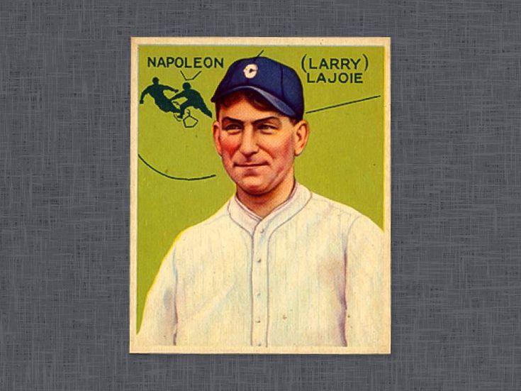 1933 goudey napoleon lajoie baseball cards baseball cards