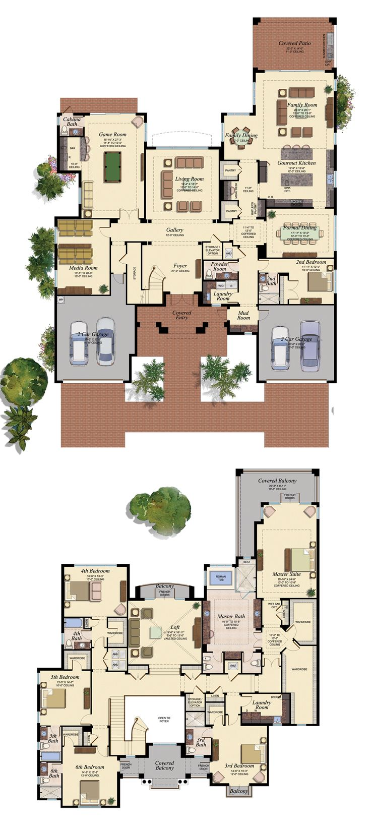 The Oaks at Boca Raton - Lot 3 floor plan