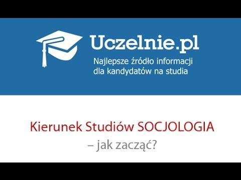 STUDIA SOCJOLOGIA - YouTube