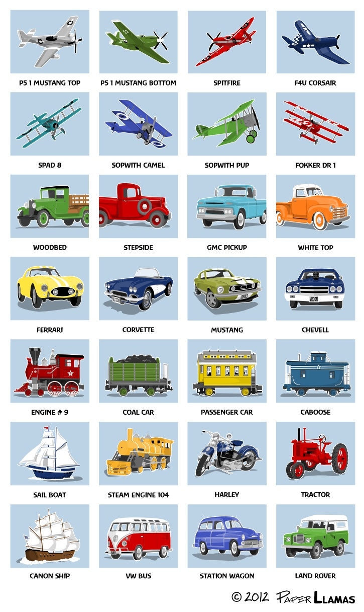 Vintage Train wall art - transportation wall art prints