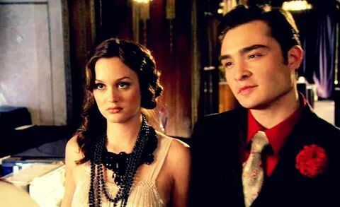 Chuck and Blair during the prohibition party