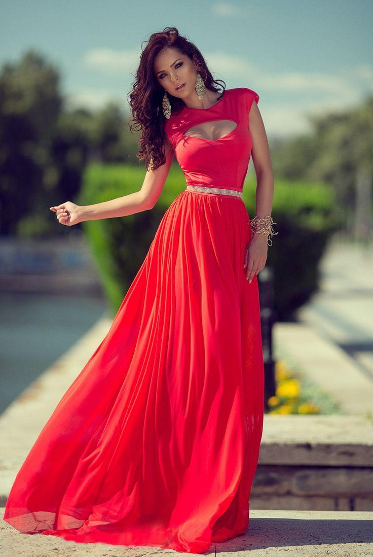 rochii rosii lungi de seara - Căutare Google