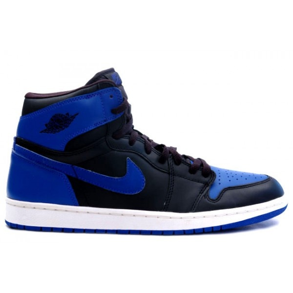 Buy 136066 041 Air Jordan 1 Retro Mens Basketball Shoes Black Blue Cheap To  Buy from Reliable 136066 041 Air Jordan 1 Retro Mens Basketball Shoes Black  Blue ...