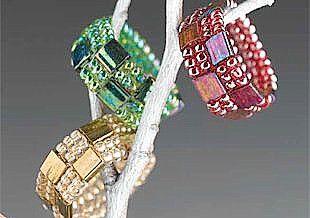Details zu Perlenschmuck mit Tila-Beads - Lydia Klös