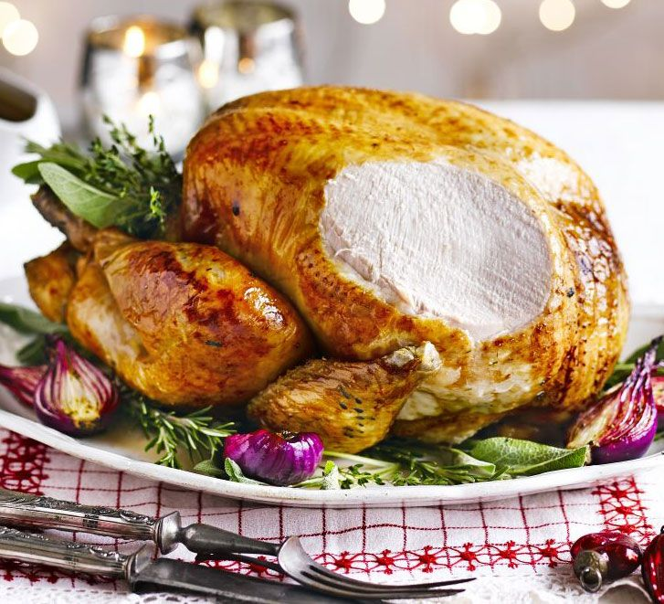 Try this delicious way to prepare the Christmas bird, with bay leaves, lemon and stuffing - perfect flavours to compliment your festive dinner