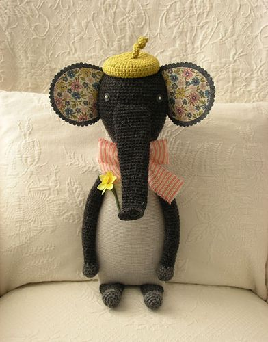 Elephant crochet - Without pattern