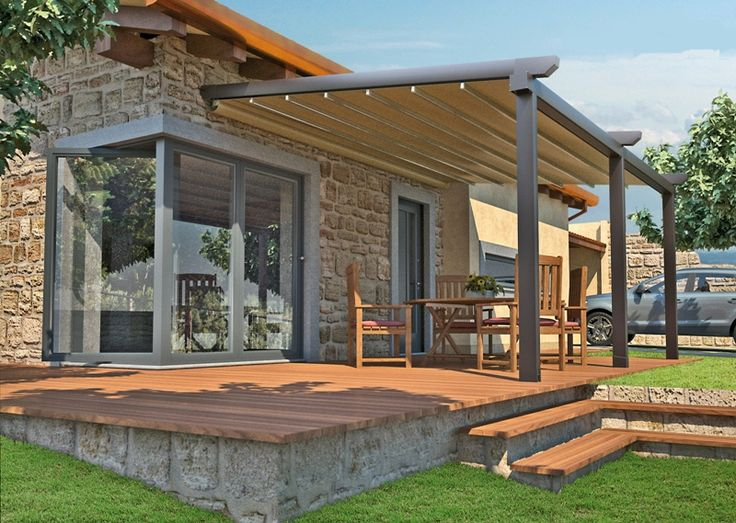 Charming Asian Inspired Water PROOF (not Water RESISTANT) Retractable Patio Cover  System. See The