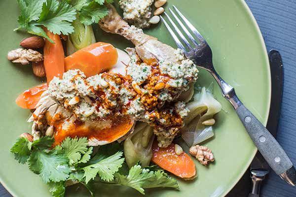 Circassian chicken – Recipes – Bite