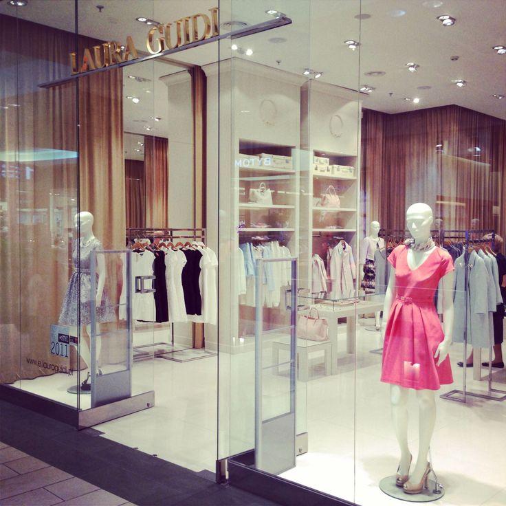 Laura Guidi flagship boutigue in Warsaw, Poland (Galeria Mokotów Shopping Mall)