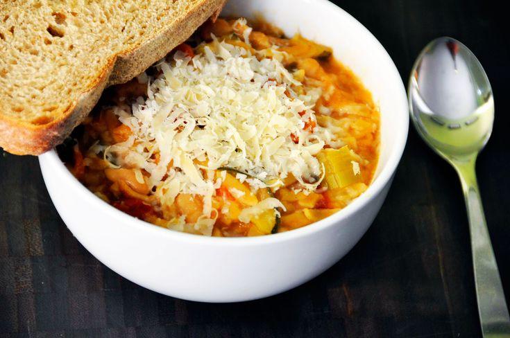 Recipe:  Crock Pot Minestrone Soup