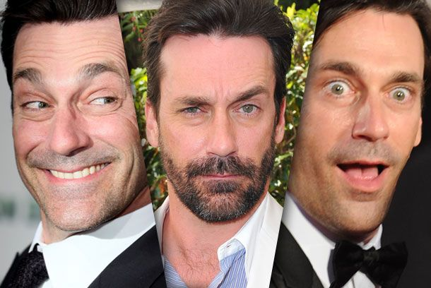 24 Photos of Jon Hamm Making Silly Faces in Nice Clothes