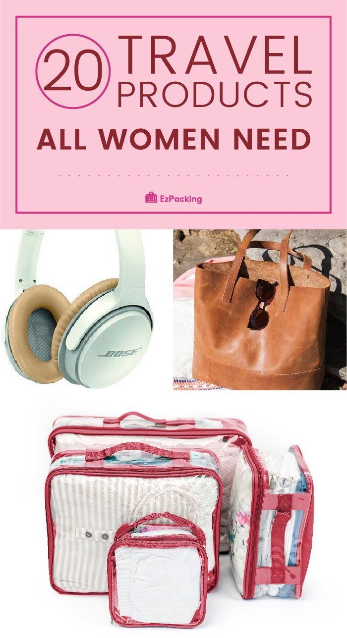 Travel Essentials for Women: 20+ Products You Need
