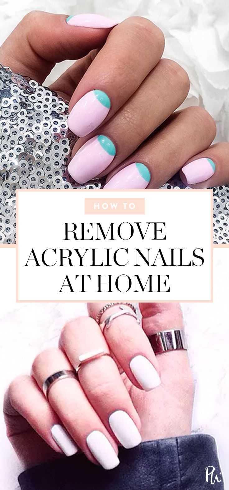 How to Remove Acrylic Nails at Home #blinkbeauty #removeacrylicnails #acrylicnails #nailtips