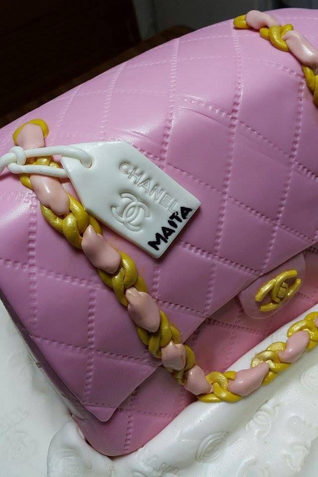 Channel Bag Cake