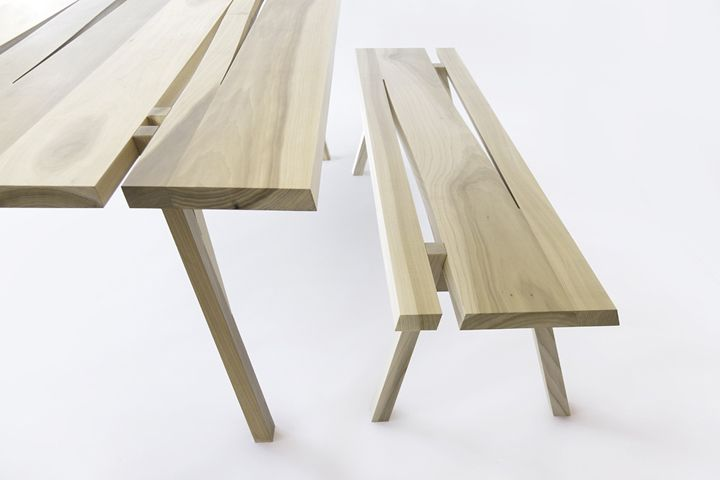 Divis bench by Mike & Maaike for Council furniture 2