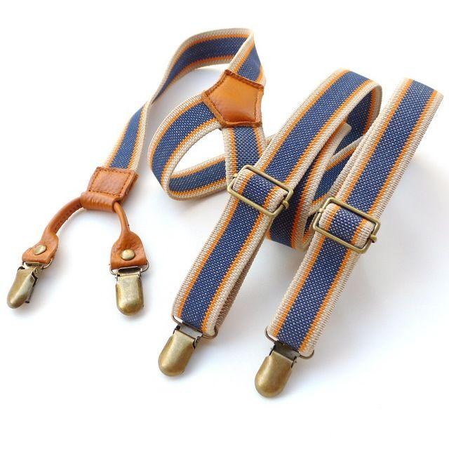 Men's Vintage Suspenders Clip General Casual Fashion Clothing