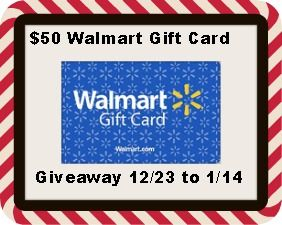 $50 Walmart Gift Card Giveaway US Ends 1/14