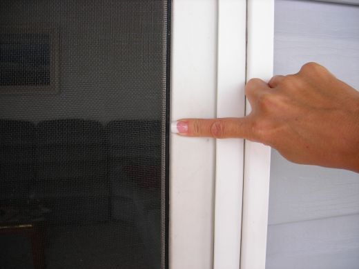 Hi! I replaced a screen door screen for the first time in my life today. Fixing a screen door screen is not particularly hard to do. Honestly, the shrub near your home is more mechanical than I am, so if I can install a screen, you can too! ...