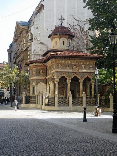 "Street view of ""Stavropoleos Monastery"""