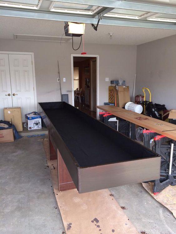DIY Shuffleboard Table