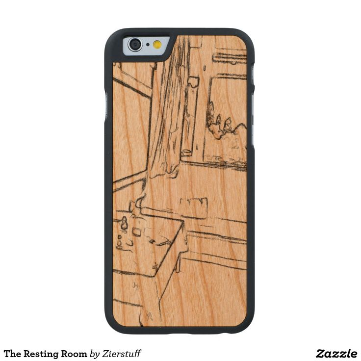 The Resting Room Carved® Cherry iPhone 6 Case