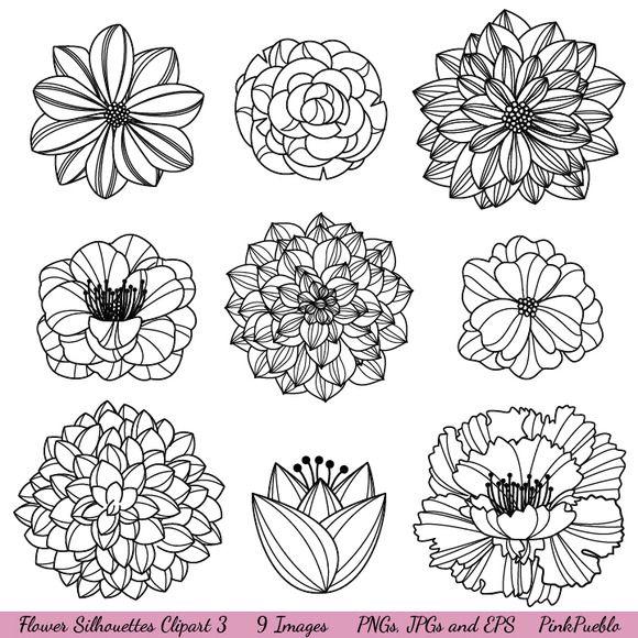 vector flowers                                                                                                                                                                                 Más