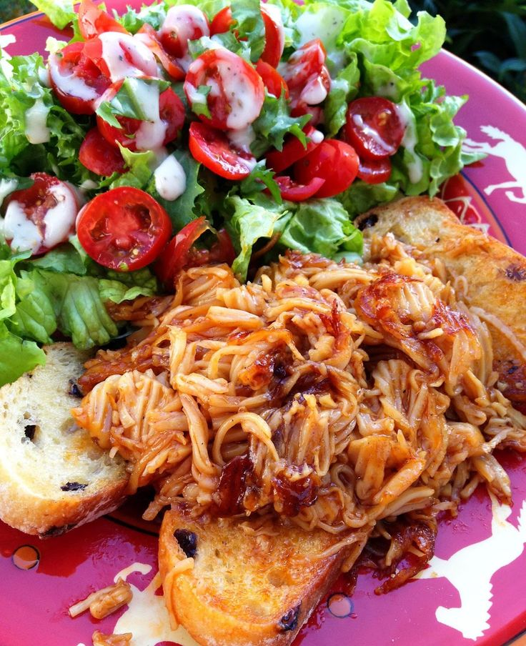 "Vegan Food; More Than Tofu and Sprouts!: ""Pulled"" BBQ style Mushroom Sandwiches #vegan"