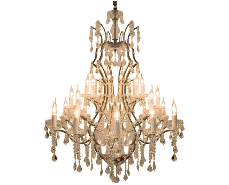 Antique Hanging Chandelier (Large) - Lighting | Weylandts