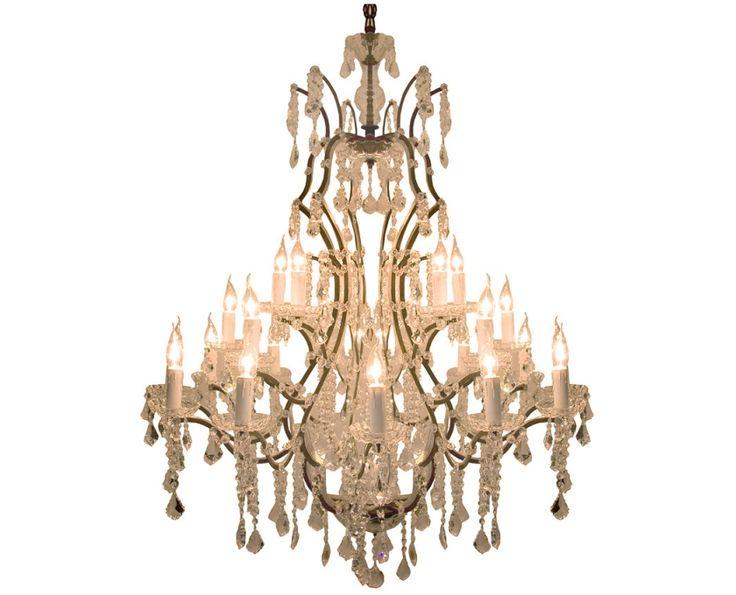 Antique Hanging Chandelier (Large) - Lighting | Weylandts