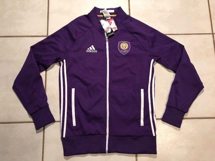 NWT ADIDAS Orlando City SC MLS Anthem Jacket Men's Medium  | eBay