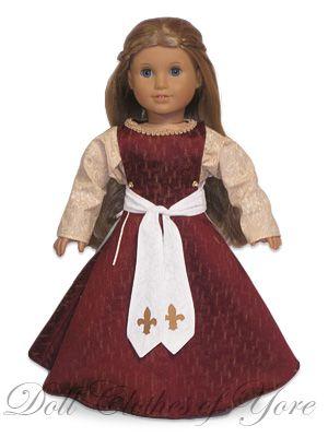 'Catherine of Valois' Dress - Circa 1300