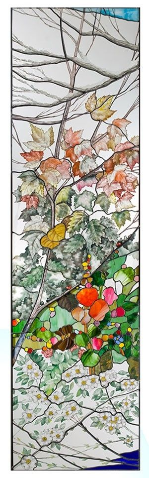 Four Seasons Window (stained glass)