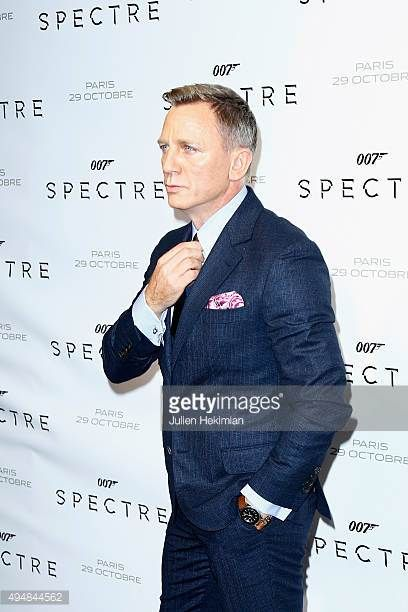 Actor Daniel Craig attends '007 Spectre' Paris Premiere at Le Grand Rex on October 29 2015 in Paris France