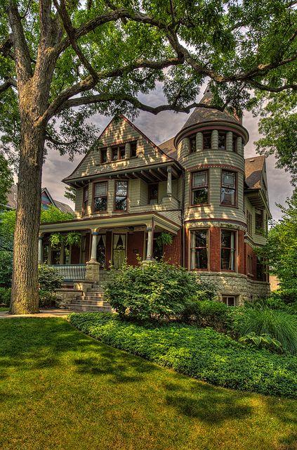 Queen Anne Victorian, Illinois