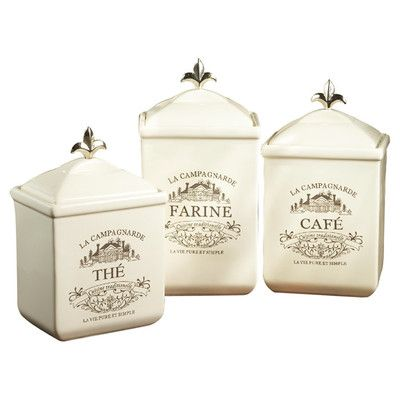 Kitchen Canisters Canisters And Jars On Pinterest