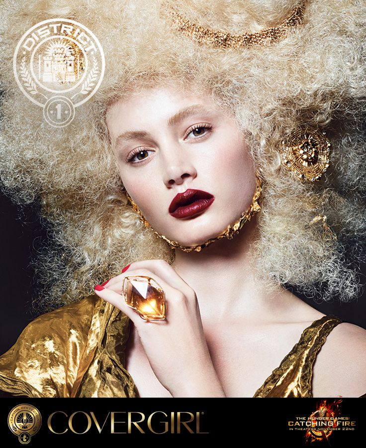 Covergirl Capitol Collection Glosstinis For Catching: 1000+ Ideas About Hunger Games Makeup On Pinterest