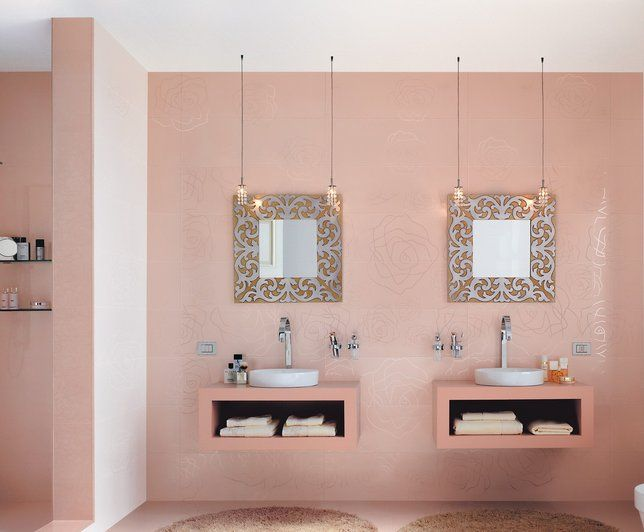Die besten 25+ Salle de bain rose Ideen auf Pinterest | Rebecca ...