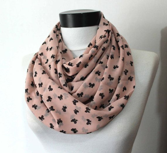 bow scarfprint scarflong scarfscarvesinfinity by starshopboutique