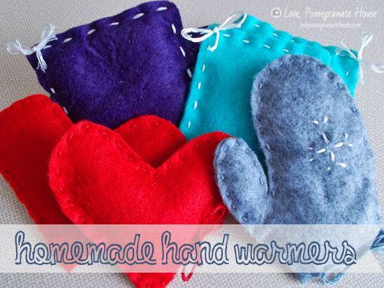Homemade Hand Warmers