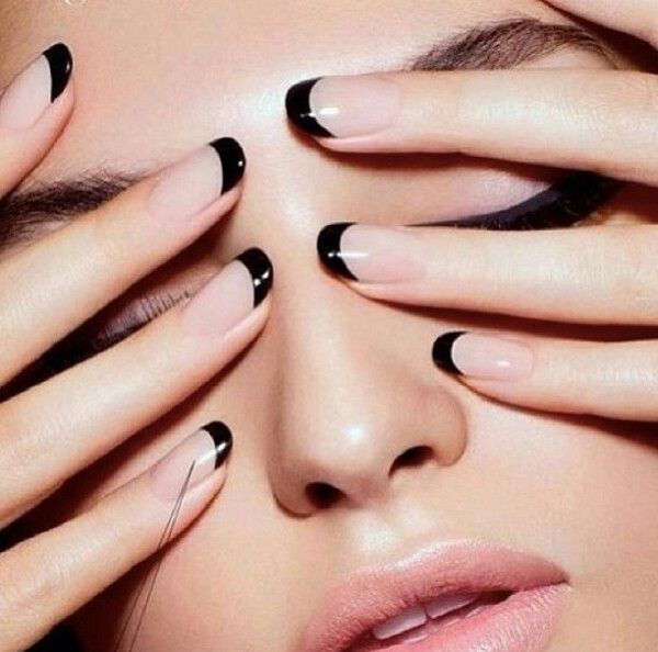 Neutral with Black Tips