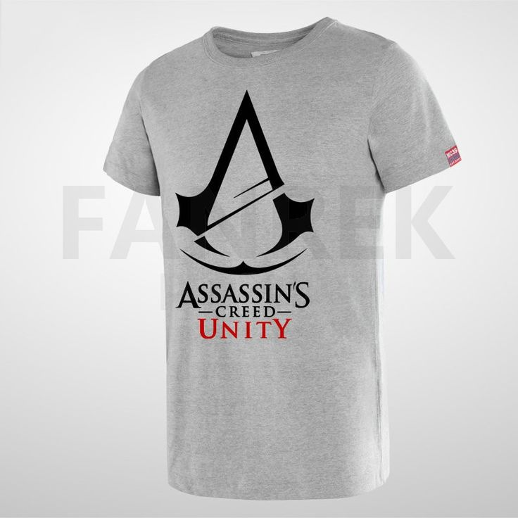 Assassin's Creed Unity Logo Cool T-Shirts